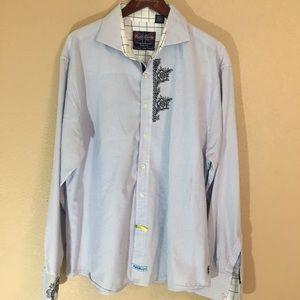English laundry 3xl long sleeved button down shirt
